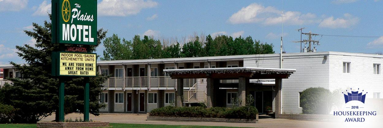 Plains Motel Brooks Alberta